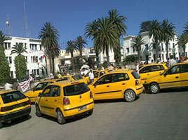 Tunisie gr ve des propri taires de taxis individu - Chambre syndicale des proprietaires ...