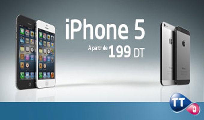 tunisie t l com l 39 iphone 5 seulement 199 dt directinfo. Black Bedroom Furniture Sets. Home Design Ideas