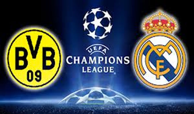 Footbal l -Match en direct : Real Madrid - Borussia Dortmund ...