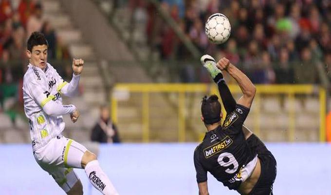 Hamdi Harbaoui marque un triplé pour Zulte-Waregem — Championnat de Belgique