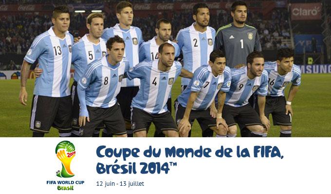 Mondial 2014 argentine iran les cha nes qui diffuseront le match directinfo - Equipe argentine coupe du monde 2014 ...