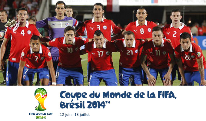 Mondial 2014 br sil chili liens streaming directinfo - Bresil coupe du monde 2014 ...