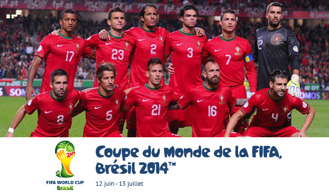 Mondial 2014 s lection portugaise les champions d - Qualification portugal coupe du monde ...