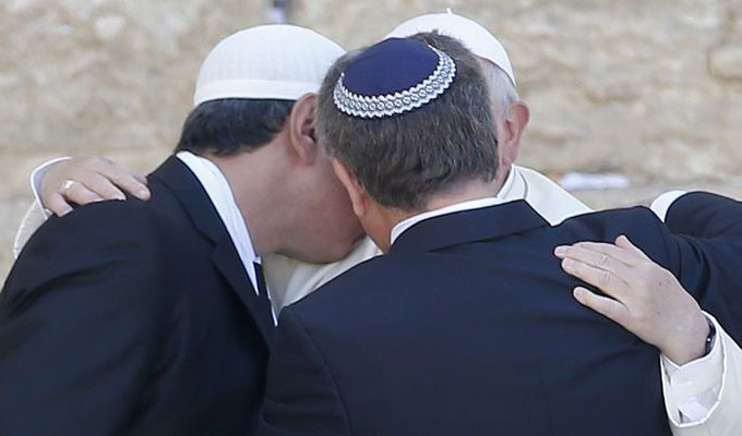 rabbin-musulman-chretien-pape-francois-jerusalem-terre-sainte-proche-orient-pelerinage