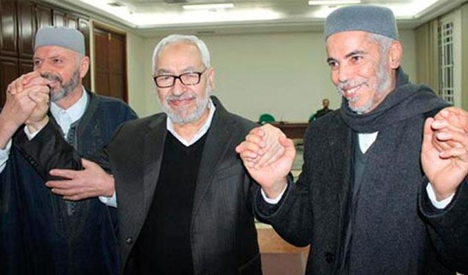 chourou-ellouze-rached-ghnannouchi-tunisie-loi-anti-terrorisme