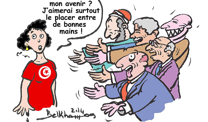 tunisie-directinfo-dessin-caricature-chedly-belkhamsa-Tunisie-Elections2014-Ils-manquent-vraiment-d-imagination-nos-candidats