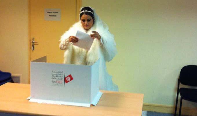 l 233 gislatives 2014 mariage au bureau de vote de photo directinfo