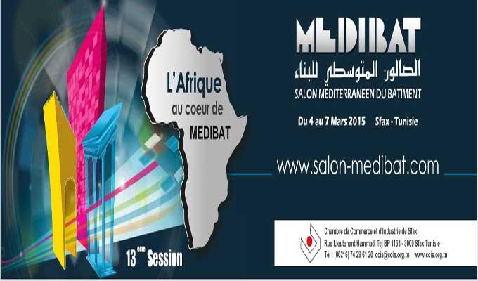 Medibat 2015 ouvre ses portes sfax directinfo for Chambre de commerce sfax