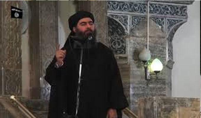 Syrie : Abou Bakr Baghdadi n'est pas mort, il est gravement blessé