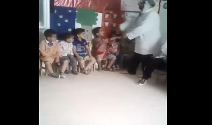 Tunis des enfants frapp s et menac s par une enseignante vid o directinfo - Jardin d enfant en tunisie ...