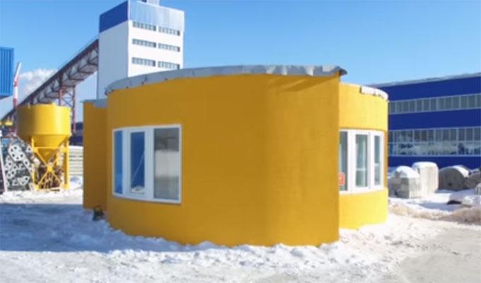 Chantier 2 0 construction d 39 une maison avec une for Construction de maison imprimante 3d