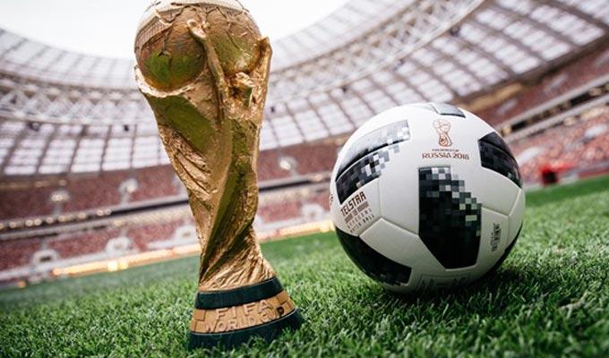 Mondial russie 2018 pr sentation du ballon officiel du - Ballon coupe du monde 1986 ...
