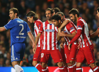 Atlético Madrid contre Chelsea
