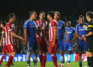 Chelsea contre l'Atlético Madrid