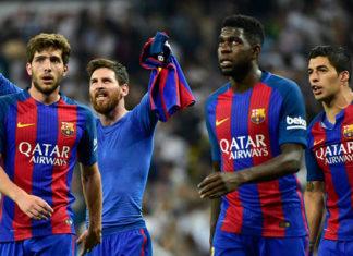 La joie de Messi et du Barça