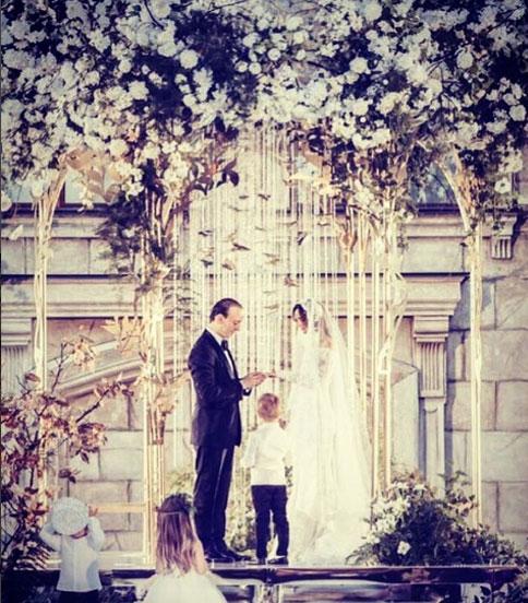En photo  Mariage de Walid Arem en Russie