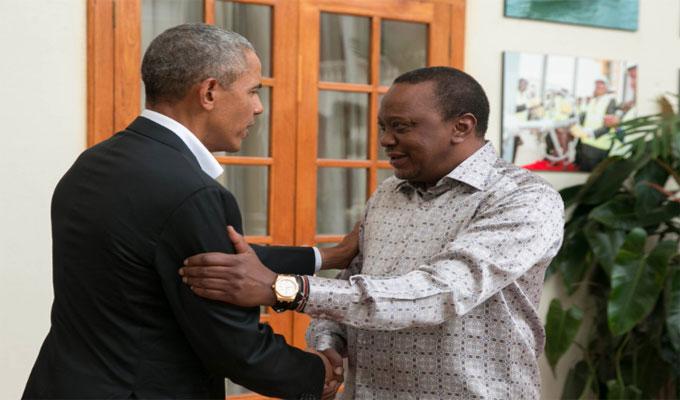 Barack Obama rend visite à sa famille au Kenya