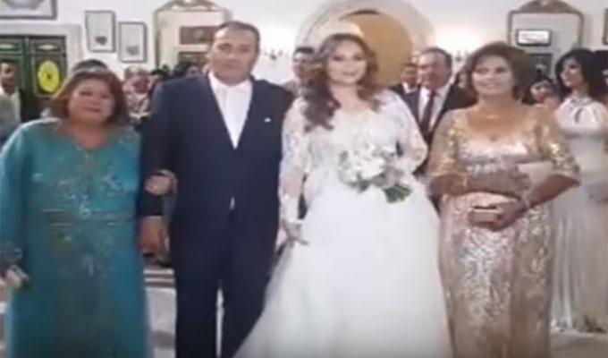 Plusieurs photos ont été partagées sur le réseau social, Facebook, du  mariage du journaliste Moez Ben Gharbia avec Rim Nouredine.