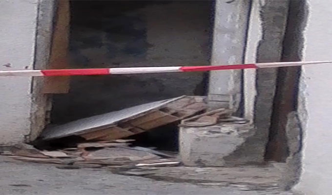 tunisie un plafond s 39 effondre faisant deux bless s au centre ville photos directinfo. Black Bedroom Furniture Sets. Home Design Ideas