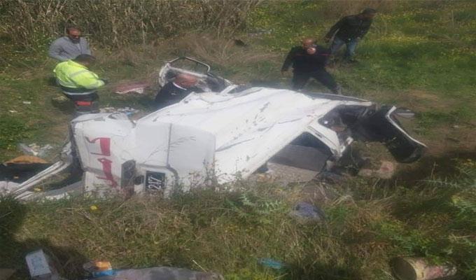 tunisie un accident de la route fait 9 bless s grombalia directinfo. Black Bedroom Furniture Sets. Home Design Ideas