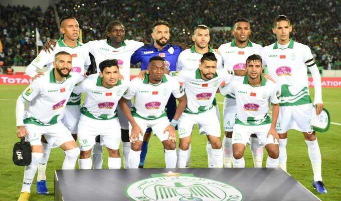 Le Raja amoindri face au MC Alger — UAFA
