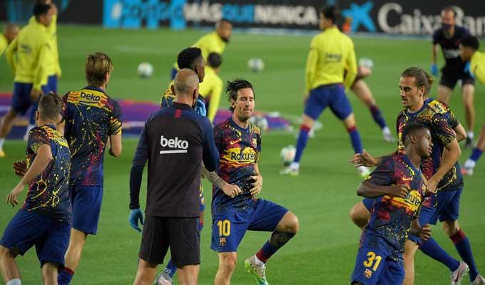 Fc Barcelone Messi Seche L Entrainement De Reprise Le Bras De Fer Se Poursuit Directinfo