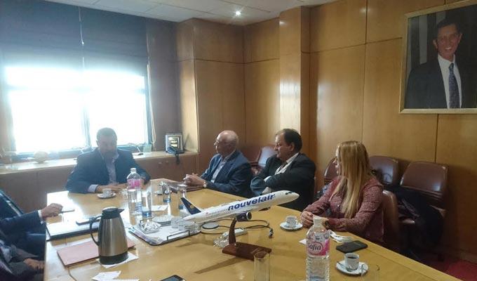 Nouvelair et ctaci signent une convention de coop ration for Chambre algerienne de commerce