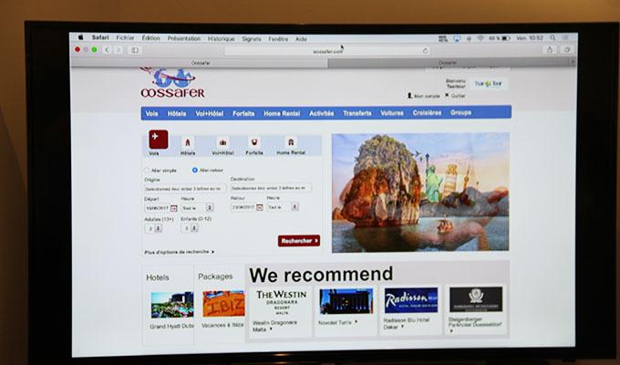 Tourisme voyages oossefer une plateforme de for Plateforme reservation hotel