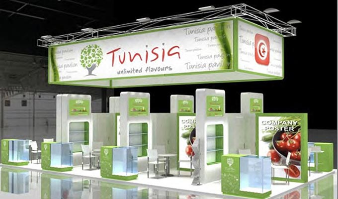 trente cinq entreprises tunisiennes au salon de l