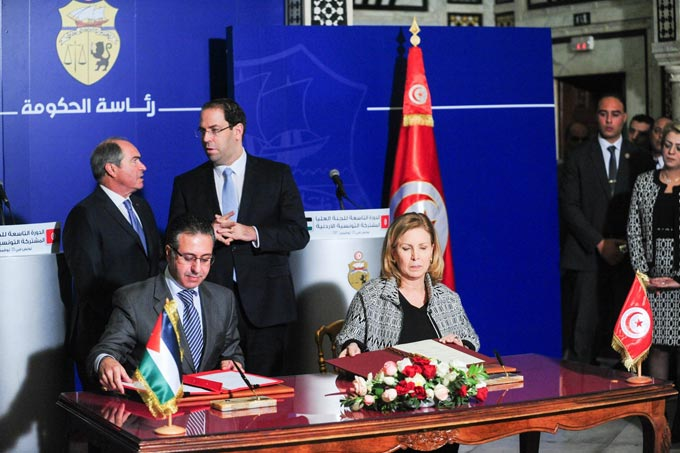 Onze accords sign s entre la tunisie et la jordanie for Commission commerce et artisanat decazeville murat