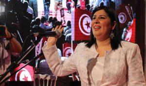 """La présidente du Parti destourien libre (PDL), Abir Moussi, a déclaré que  son parti """"ne reconnaît pas les lois promulguées au cours des dernières  années, ... 924f00c58457"""