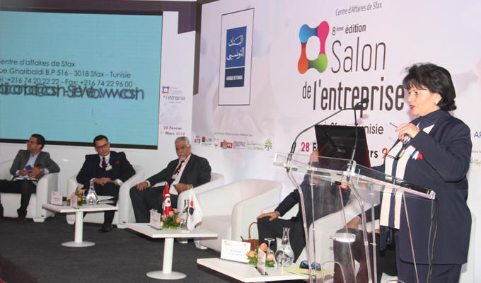 Salon de l 39 entreprise sfax au del des fronti res for Salon creation entreprise