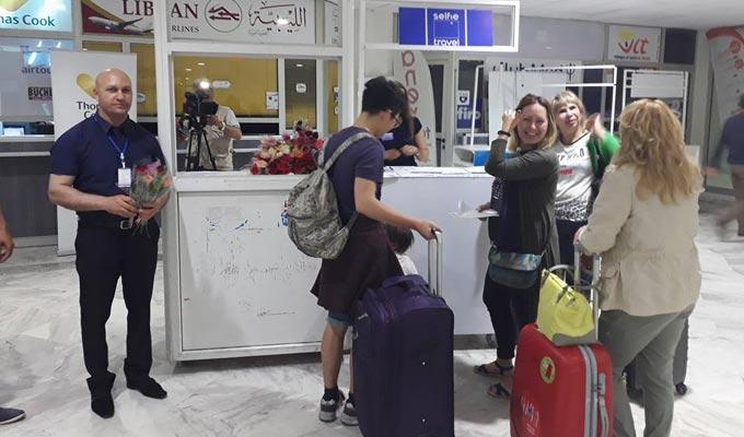 Arrivée de 150 touristes kazakhs et Ouzbeks à Monastir Kazakhsten-toutiste